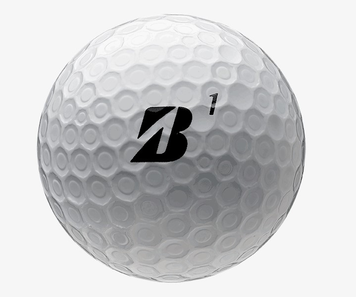 Bridgestone e12 CONTACT Golf Ball Dimple Pattern