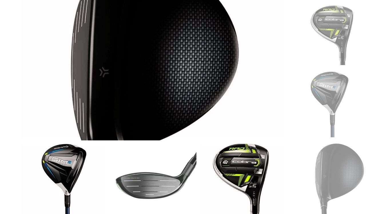 A Collage of fairway woods