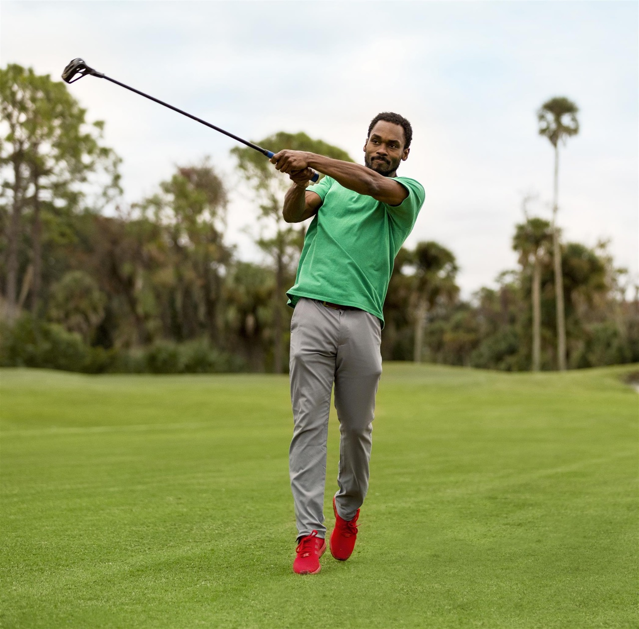FlingGolf player in action on the course